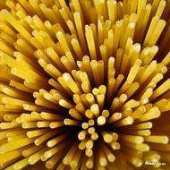 Makron spaghetti - przykład wzoru