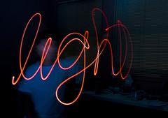 """Efekt """"pisania światłem"""""""