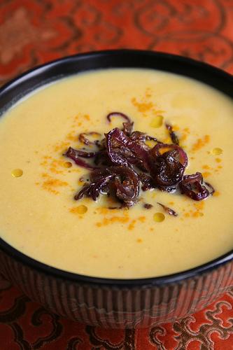 Sopa india de lentejas