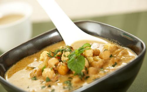 Turkey curry soup