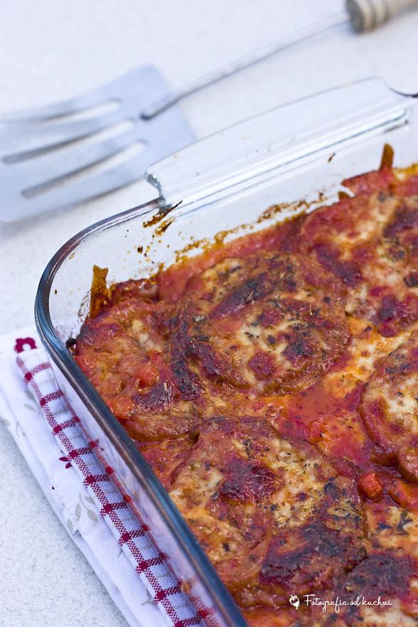 Zapiekanka z bakłażana - eggplant parmesan