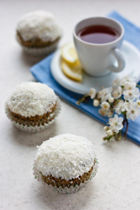 Muffinki cytrynowe z makiem
