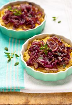 Tarta z karmelizowaną cebulą - zdjęcie 1