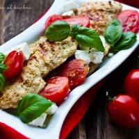 Grillowane filety z kurczaka po grecku