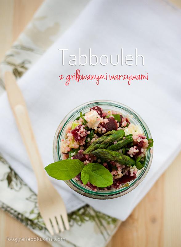 Tabbouleh z grillowanymi warzywami