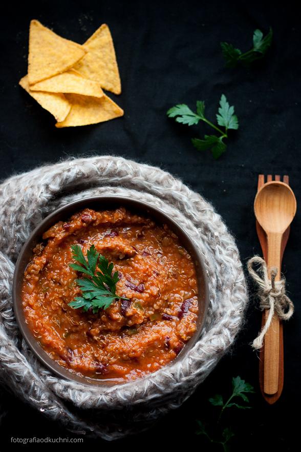 Wegetariańskie chili con carne