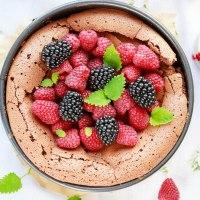 Ciasto bardzo czekoladowe bez mąki