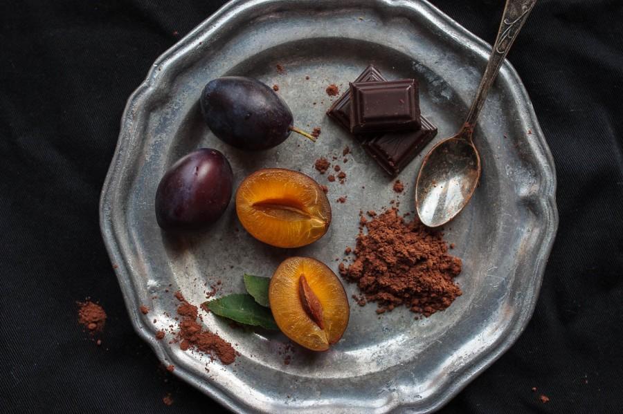 Śliwki i czekolada